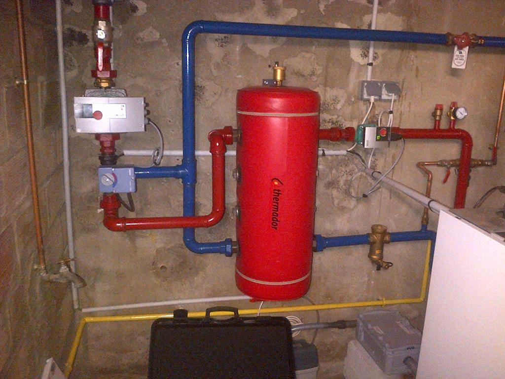Installation Chaudière À Condensation jean-marc sol : installation salle de bains clés en main